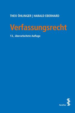 Verfassungsrecht von Eberhard,  Harald, Öhlinger,  Theo