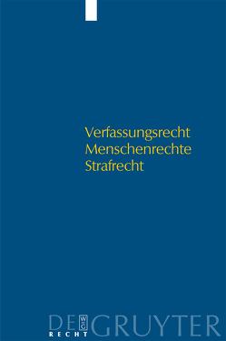 Verfassungsrecht – Menschenrechte – Strafrecht von Böttcher,  Reinhard, Huther,  Edda, Rieß,  Peter