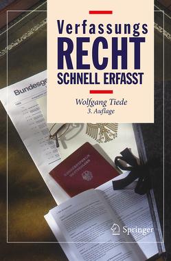 Verfassungsrecht – Schnell erfasst von Krannich,  Marie, Tiede,  Wolfgang