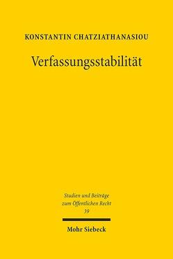 Verfassungsstabilität von Chatziathanasiou,  Konstantin