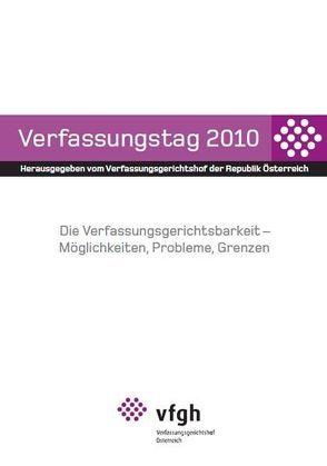 Verfassungstag 2010 von Verfassungsgerichtshof d. Republik Österreich