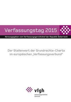 Verfassungstag 2015 von Verfassungsgerichtshof d. Republik Österreich