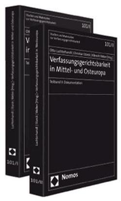 Verfasungsgerichtsbarkeit in Mittel- und Osteuropa 2 Bd. von Luchterhandt,  Otto, Starck,  Christian, Weber,  Albrecht