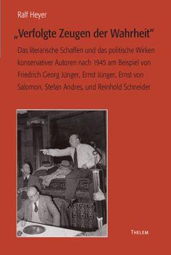 """""""Verfolgte Zeugen der Wahrheit"""" von Heyer,  Ralf"""