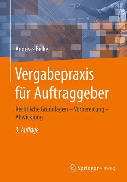Vergabepraxis für Auftraggeber von Belke,  Andreas