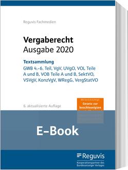 Vergaberecht – Ausgabe 2020 (E-Book)