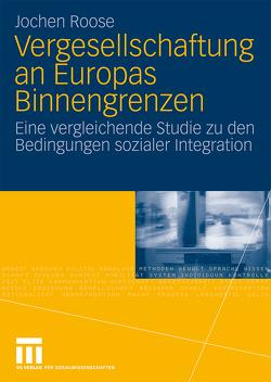 Vergesellschaftung an Europas Binnengrenzen von Roose,  Jochen