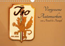 Vergessene Automarken (Wandkalender 2021 DIN A4 quer) von Safferling,  Ulrich