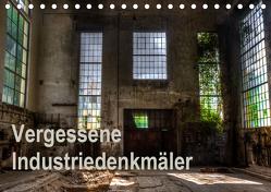 Vergessene Industriedenkmäler (Tischkalender 2019 DIN A5 quer) von Schmiderer,  Ines