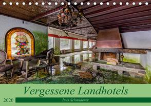 Vergessene Landhotels (Tischkalender 2020 DIN A5 quer) von Schmiderer,  Ines