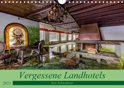 Vergessene Landhotels (Wandkalender 2021 DIN A4 quer) von Schmiderer,  Ines