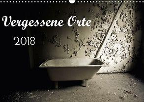 Vergessene Orte (Wandkalender 2018 DIN A3 quer) von SchnelleWelten