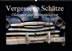 Vergessene Schätze – Oldtimer auf Schrottplätzen (Wandkalender 2020 DIN A2 quer) von Gerken,  Jochen