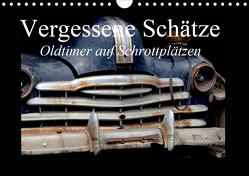 Vergessene Schätze – Oldtimer auf Schrottplätzen (Wandkalender 2020 DIN A4 quer) von Gerken,  Jochen