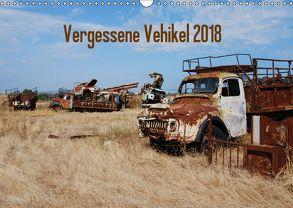 Vergessene Vehikel 2018 (Wandkalender 2018 DIN A3 quer) von Herms,  Dirk