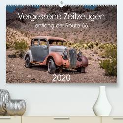 Vergessene Zeitzeugen entlang der Route 66 (Premium, hochwertiger DIN A2 Wandkalender 2020, Kunstdruck in Hochglanz) von Brückmann,  Michael
