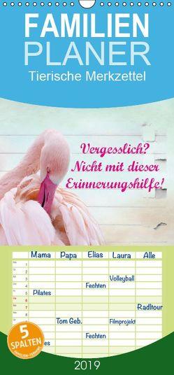 Vergesslich? Nicht mit dieser Erinnerungshilfe! – Familienplaner hoch (Wandkalender 2019 , 21 cm x 45 cm, hoch) von Hultsch,  Heike