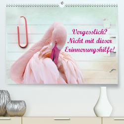 Vergesslich? Nicht mit dieser Erinnerungshilfe! (Premium, hochwertiger DIN A2 Wandkalender 2020, Kunstdruck in Hochglanz) von Hultsch,  Heike
