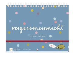 vergissmeinnicht 2019 – Der Familienkalender für Hand und Wand von Brudereck,  Katharina, Schmidt,  Silke