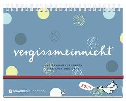 vergissmeinnicht 2020 – Der Familienkalender für Hand und Wand von Brudereck,  Katharina, Schmidt,  Silke