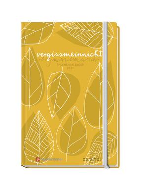 vergissmeinnicht 2021 – Taschenkalender von Schaefer,  Anja, Siegel,  Tabea