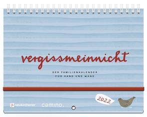 vergissmeinnicht 2022 – Der Familienkalender für Hand und Wand von Lerz,  Anja, Schmidt,  Silke