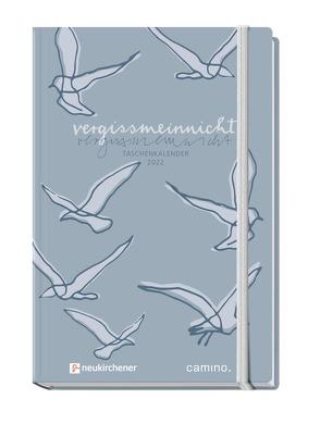 vergissmeinnicht 2022 – Taschenkalender von Schaefer,  Anja, Siegel,  Tabea