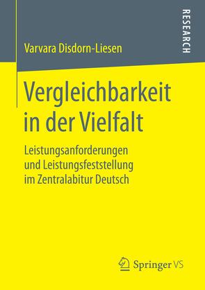 Vergleichbarkeit in der Vielfalt von Disdorn-Liesen,  Varvara