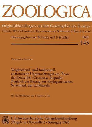 Vergleichend- und funktionell-anatomische Untersuchungen am Pleon der Oniscidea (Crustacea, Isopoda) von Erhard,  Friedhelm
