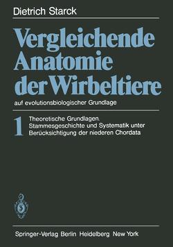 Vergleichende Anatomie der Wirbeltiere auf evolutionsbiologischer Grundlage von Starck,  D.