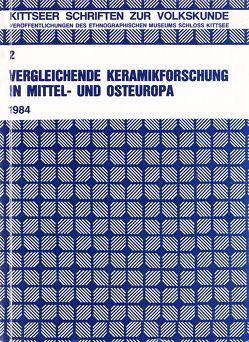 Vergleichende Keramikforschung in Mittel- und Osteuropa von Beitl,  Klaus, Liesenfeld,  Gertraud