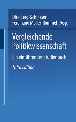 Vergleichende Politikwissenschaft von Berg-Schlosser,  Dirk