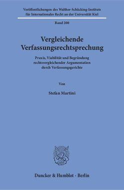 Vergleichende Verfassungsrechtsprechung. von Martini,  Stefan