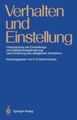 Verhalten und Einstellung von Mummendey,  Hans D