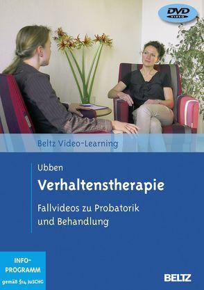 Verhaltenstherapie von Ubben,  Bernd