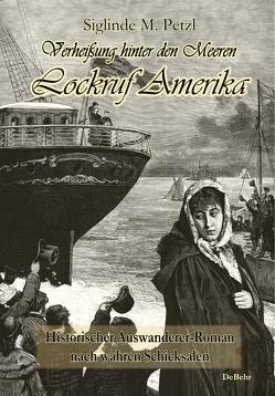Verheißung hinter den Meeren – Lockruf Amerika – Historischer Auswanderer-Roman nach wahren Schicksalen von Petzl,  Siglinde