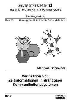Verifikation von Zeitinformationen in drahtlosen Kommunikationssystemen von Schneider,  Matthias