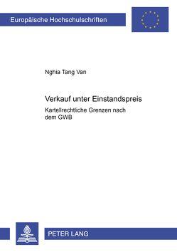Verkauf unter Einstandspreis von Tang Van,  Nghia