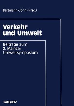 Verkehr und Umwelt von Bartmann,  Hermann