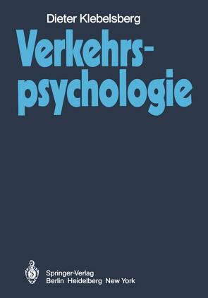Verkehrspsychologie von Klebelsberg,  D.