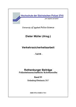 Verkehrssicherheitsarbeit von Müller,  Dieter
