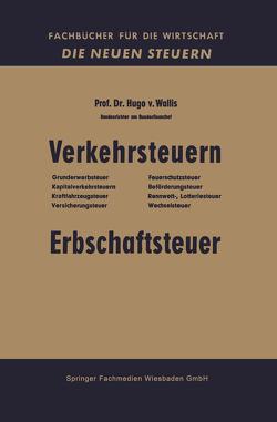 Verkehrsteuern von von Wallis,  Hugo
