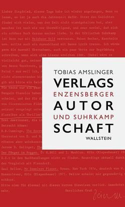 Verlagsautorschaft von Amslinger,  Tobias