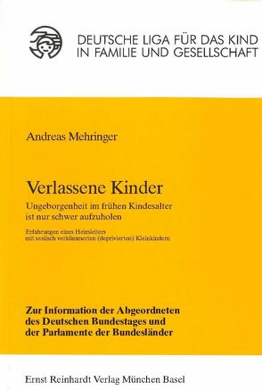 Verlassene Kinder von Mehringer,  Andreas