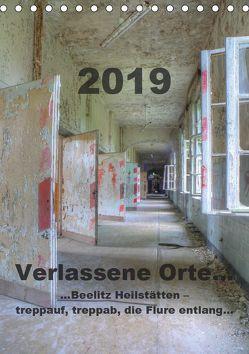 Verlassene Orte…Beelitz Heilstätten – treppauf, treppab, die Flure entlang (Tischkalender 2019 DIN A5 hoch) von Schröer,  Ralf