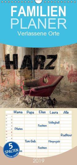 Verlassene Orte im Harz – Familienplaner hoch (Wandkalender 2019 <strong>21 cm x 45 cm</strong> hoch) von Buchspies,  Carina