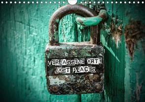 Verlassene Orte – Lost Places (Wandkalender 2020 DIN A4 quer) von Matschek,  Gerd