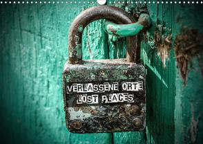 Verlassene Orte – Lost Places (Wandkalender 2021 DIN A3 quer) von Matschek,  Gerd