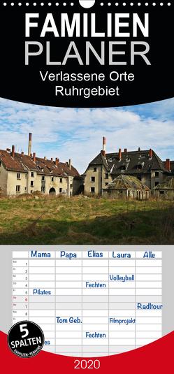 Verlassene Orte Ruhrgebiet – Familienplaner hoch (Wandkalender 2020 , 21 cm x 45 cm, hoch) von Daus,  Christine