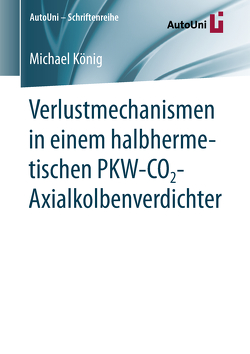 Verlustmechanismen in einem halbhermetischen PKW-CO2-Axialkolbenverdichter von Koenig,  Michael